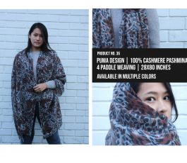 Puma Design Shawl
