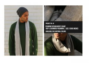 Fishbone design Mens Scarf 100% Cashmere Pashmina Multiple colors