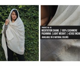 Meditation Shawl Light Weight