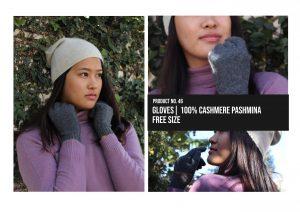 Gloves 100% Cashmere Pashmina Multiple colors