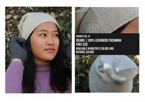 Beanie 100% Cashmere Pashmina Multiple colors
